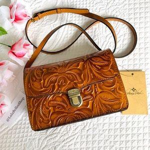 NWT Patricia Nash Tooled Leather Ariella Crossbody